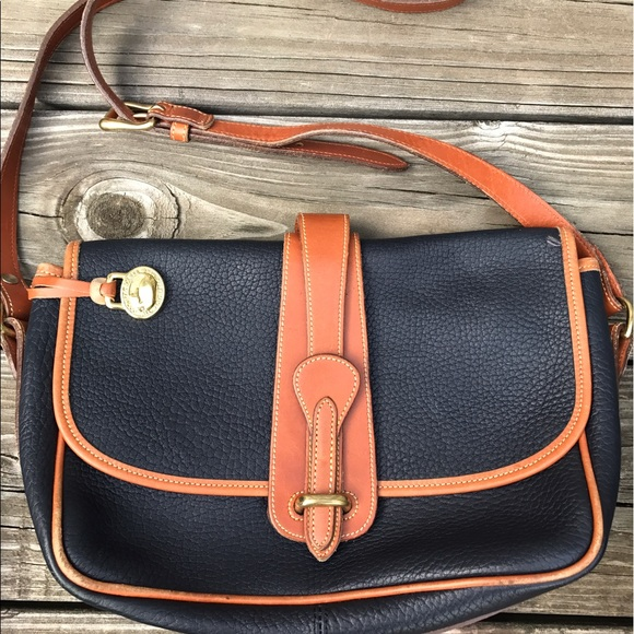 a064fe3f4385 Dooney   Bourke Handbags - Large Equestrian Dooney   Bourke Vintage Handbag