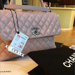 78436135f5fe Women s Chanel Coco Handle Bag on Poshmark