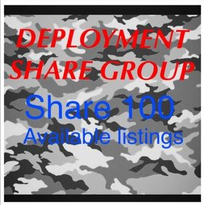 Monday Deployment share group 8pm-8pm (Mon-Tues)