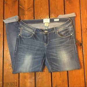 Hint Denim - Diamond pocket jeans!