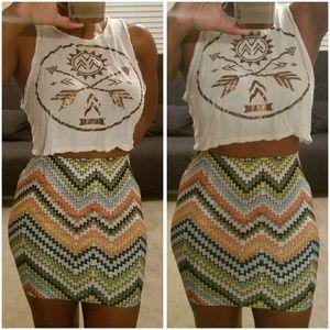 Dresses & Skirts - Ayana Aztec printed skirt