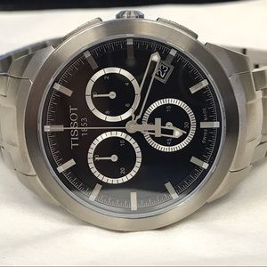 Tissot Other - Tissot titanium chronograph men's watch