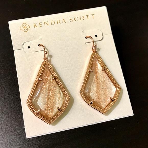 dbe67b7ec2db1 Kendra Scott Alex earrings Gold dusted rose gold