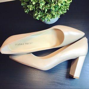Ivanka Trump Shoes - 🌷SALE! Ivanka Trump NEW Nude Lysa Pointy Pump