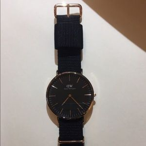 Classic black daniel Wellington watch