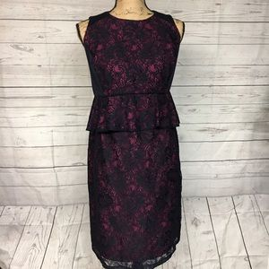 A Pea in the Pod Dresses & Skirts - Maternity Sleeveless Lace Dress Size Large