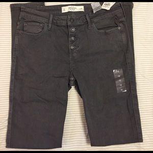 Abercrombie & Fitch Denim - The A&F High Rise Super Skinny Jeans