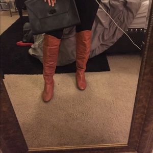 Bakers Shoes - Bakers leather Over the knee boots