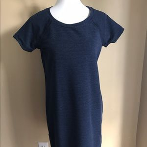 Navy blue athleta dress