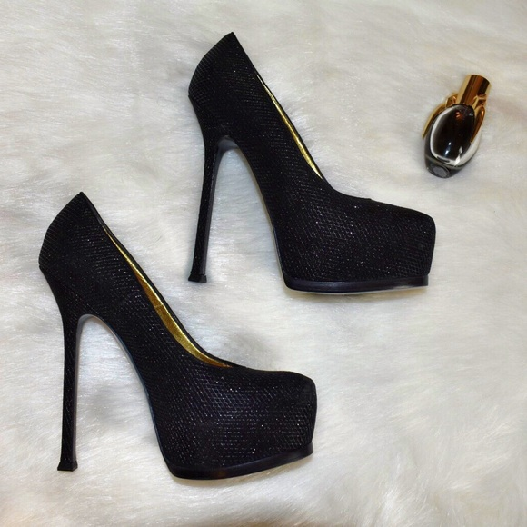 really genuine cheap price Yves Saint Laurent Mesh Tribute Two Pumps exclusive cheap price 7VlKTXGBZ