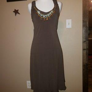 XS Dress w/Mock Necklace