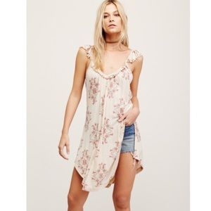Free People Tops - NWT Free People Drifter Tank Tunic in Ivory