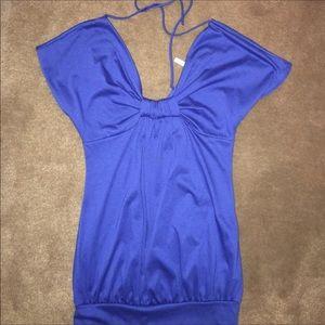 Indigo Blue Tops - 2!! Blue T-Shirt & Tank Top