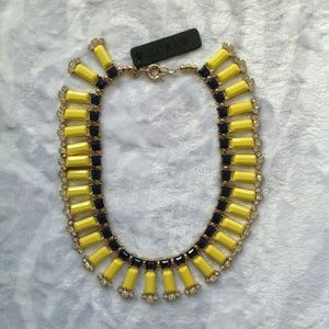 J. Crew Jewelry - Jcrew yellow statement necklace