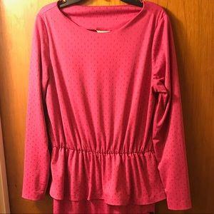 Sears Dresses & Skirts - ✅FLASH SALE✅ Vintage Pink Peplum Dress 👗 🆓B2G1🆓