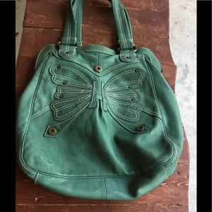 Gap leather bag