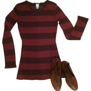 Barneys New York CO-OP Sweaters - Striped Relaxed Sweater