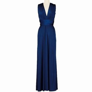 Dresses & Skirts - Convertible Infinity Maxi Dress Blue - Limited Ed.
