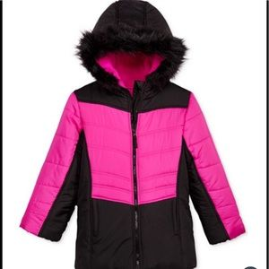 Rothschild Other - S.Rothschild Hooded Colorblocked puffer jacket
