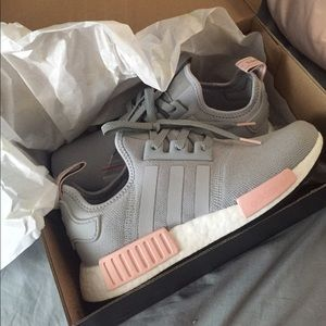 9cda60ea90308 Adidas Shoes - adidas nmd r1 clear onyx light onyx vapour pink
