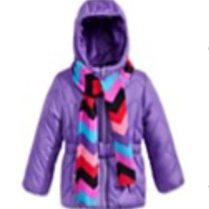 Rothschitd Other - 2-pc. Quilted Puffer jacket & scarf set.