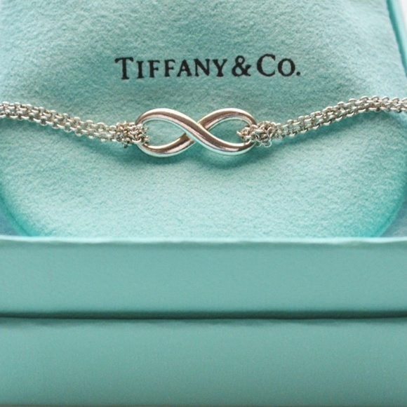 8f3b90607 Tiffany & Co. Jewelry | Tiffany Co Sterling Silver Infinity Necklace ...