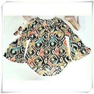 Anthropologie Tops - Blue Pepper loose fitting blouse. NWOT