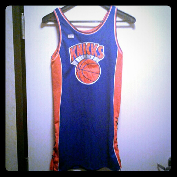 timeless design 1d733 a6f1e NY Knicks Hardwood Classics Jersey Dress