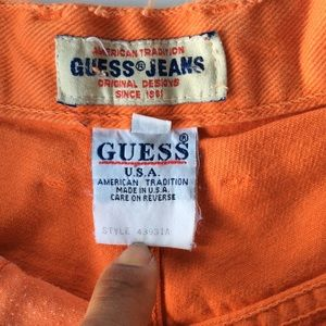 Guess Shorts - VINTAGE HIGH WAISTED GUESS SHORTS