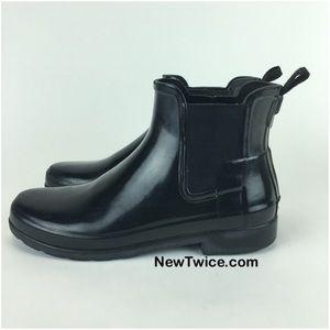 Hunter Boots Shoes - Hunter Chelsea short rain boot 8