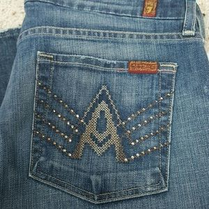 7 For All Mankind Denim - 7 for all mankind SIZE 31 NEW