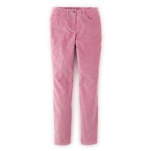 Boden Pants - Boden Pink Velveteen Pants/Jeans