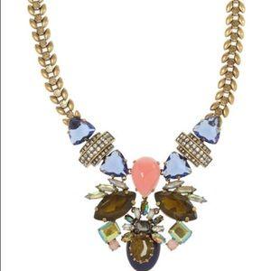 J. Crew Jewelry - J.Crew Symmetrical Stone Statement Necklace