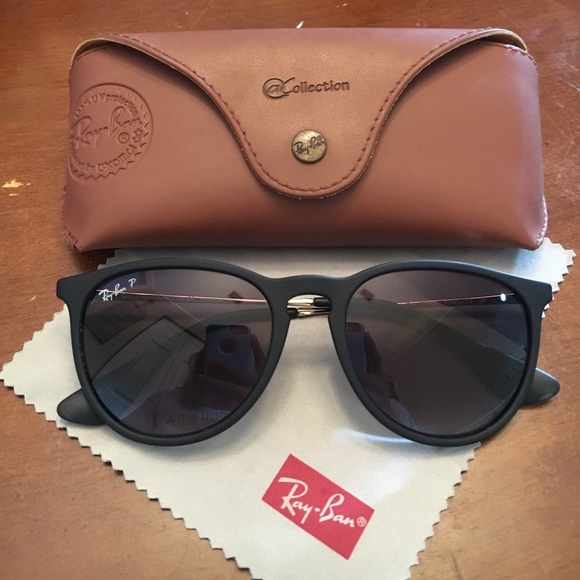 a56fbae29a Ray Ban Erika Polarized Black Matte sunglasses. M 58f2263bfbf6f9264200425b.  Other Accessories ...