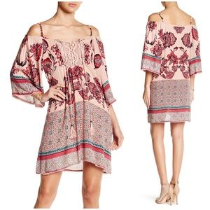 Angie Dresses & Skirts - NWT Angie Cold Shoulder Butterfly Sleeve Dress