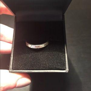 Tiffany & Co. Jewelry - Tiffany & Co. Silver 'I Love You' Ring