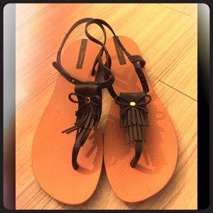 Ipanema Shoes - Ipanema sandals like new!
