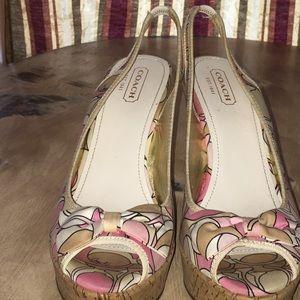 Coach Shoes - Coach Wedges