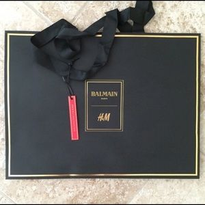 Balmain X H&M Other - Balmain X H&M shopping bag