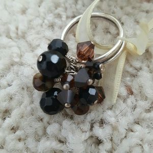10 Crosby Derek Lam Jewelry - NWT handmade sterling silver ring with bead dangle