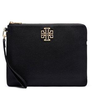 Tory Burch Handbags - Tory Burch Black Wristlet Bag