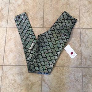Emily Hsu Designs Pants - Mermaid Leggings *price firm*