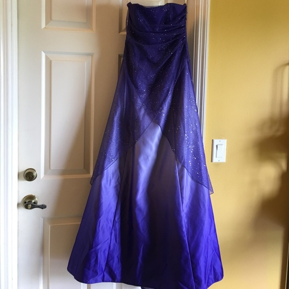 Dresses Purple Sparkle Prom Dress Poshmark