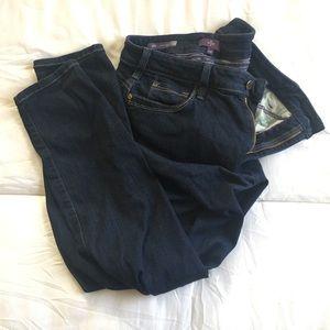 Ami Denim - AMI skinny legging stretch jeans