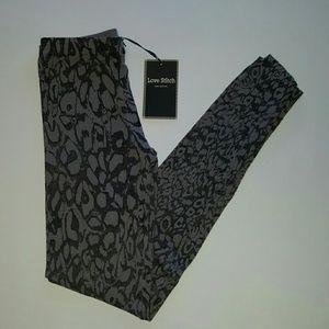 Love Stitch Pants - NWT grey leggings