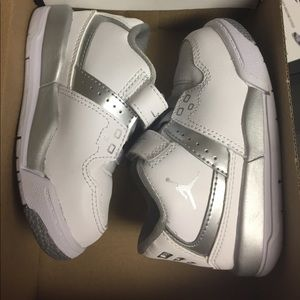 Nike Other - New Nike Jordan children's shoe size 5c all white