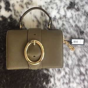 Banana republic olive color bag