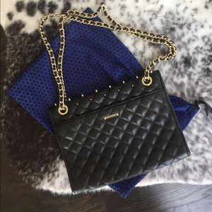 Rebecca Minkoff Bags - Rebecca Minkoff black studded shoulder bag
