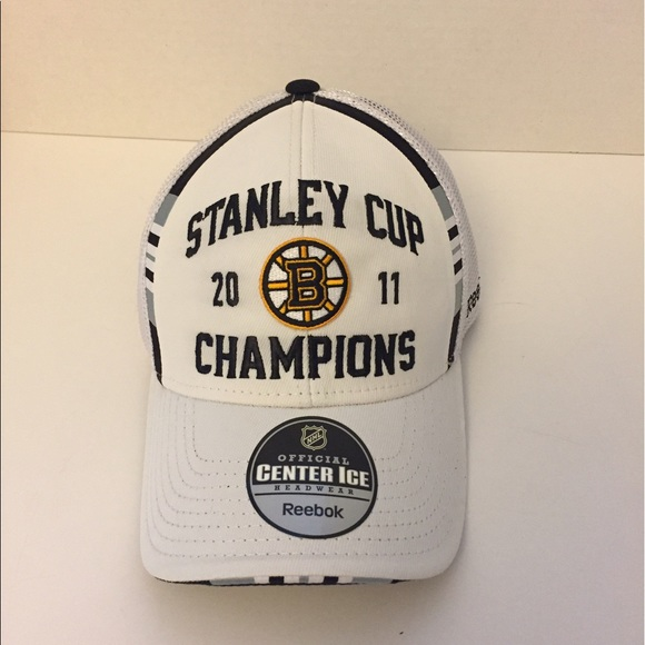 449b74af8 Bruins 2011 Stanley Cup Champ Locker Room Hat