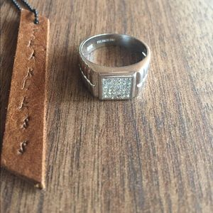 Other - Size 9 ring men Sterling silver